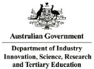 Australian Government Department of Industry, Innovation, Science, Research and Tertiary Education